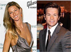 Gisele Bundchen and Mark Wahlberg