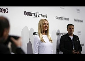 "Cast member Gwyneth Paltrow poses at a special screening of ""Country Strong"" in Beverly Hills"