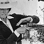 woman w/ gun