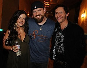 Zac Brown and his wife Shelley