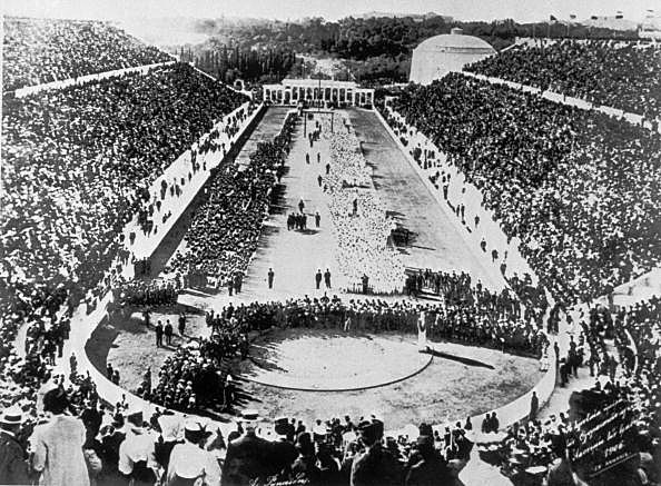 History - The First Modern Olympic Games Athens