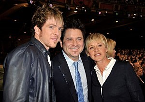 Ellen with Jay and Joe Don