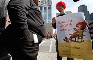 Health Activist Group Calls For McDonald's To Stop Using Ronald McDonald