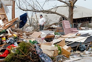 Small Oklahoma Town Deals With Aftermath Of Devastating Tornado
