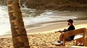 Zac Brown On The Beach