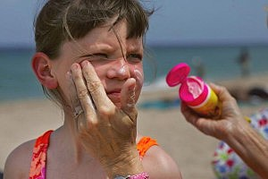 Using Sunscreen