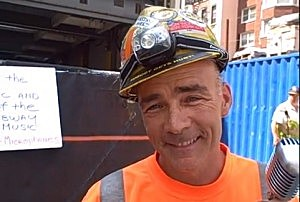 NYC construction worker