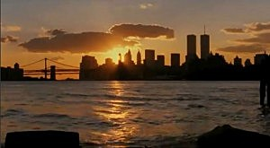 The NYC skyline pre 9-11