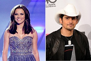 Martina McBride and Brad Paisley