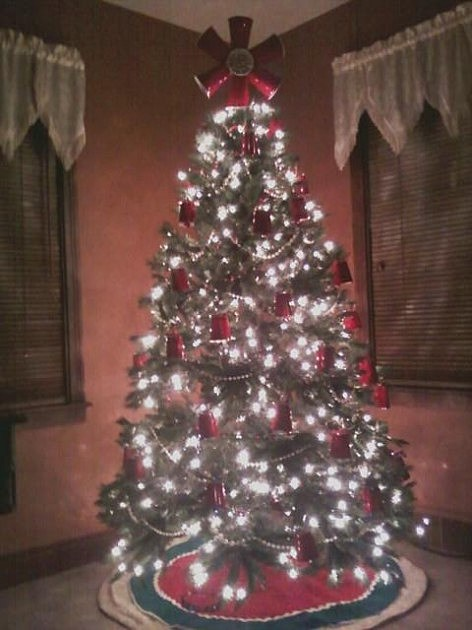 Solo Cup Tree