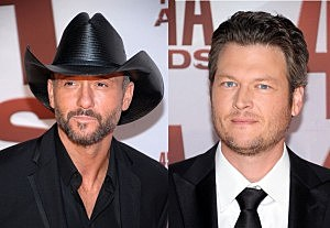 Tim McGraw vs. Blake Shelton