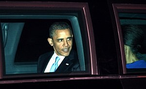 US President Barack Obama Visits The UK - Day One