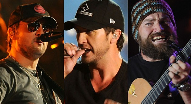 Eric Church - Luke Bryan - Zac Brown