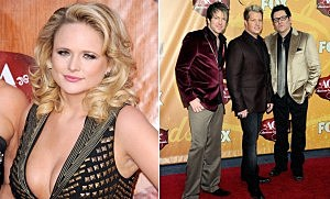 Miranda Lambert and Rascal Flatts
