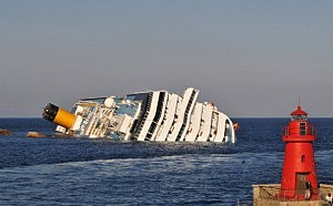 Cruise Ship Costa Concordia Runs Aground Off Giglio