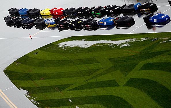 Water Logged Cars At Daytona
