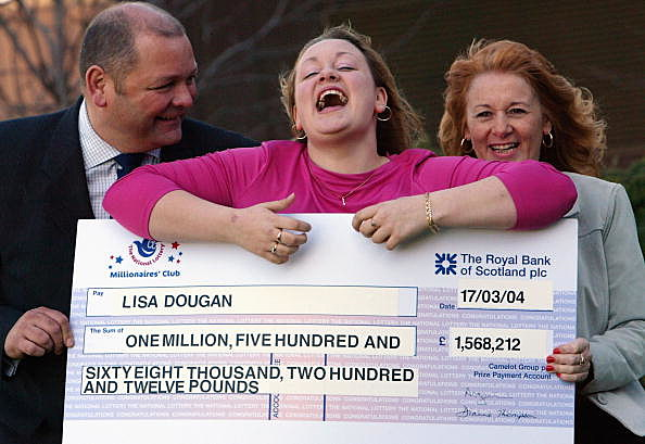 Britain's Youngest Lottery Winner Celebrates Jackpot