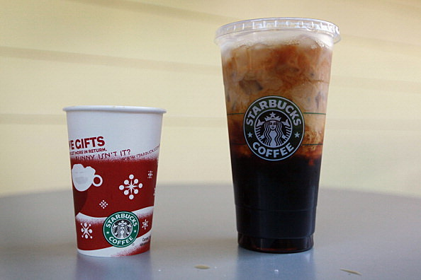 Starbucks beverages