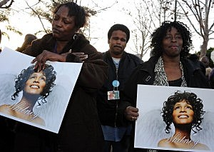 Whitney Houston Leimert Park Vigil