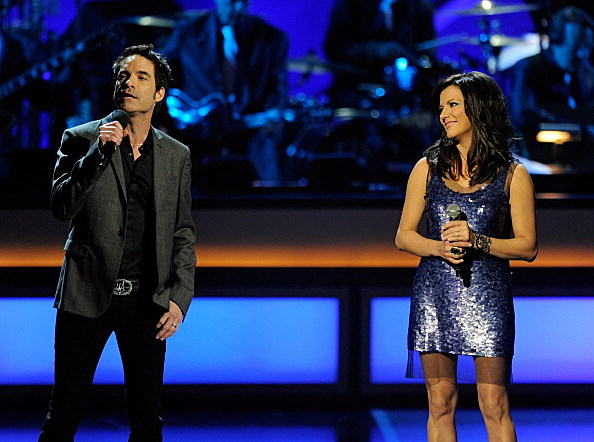 Pat Monahan with Martina McBride