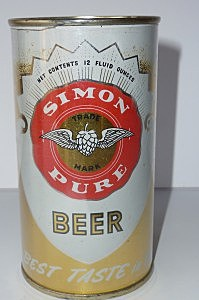 Simon Pure Beer Can