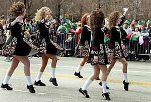 Chicago Goes Green For Annual St. Patricks Day Parade