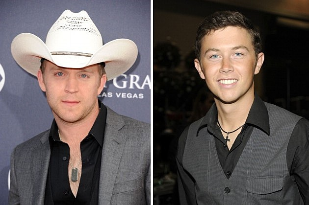 Justin Moore and Scotty McCreery