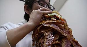Japanese Bacon Burger
