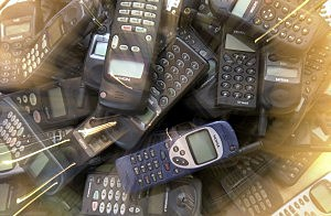Recycled cell phones