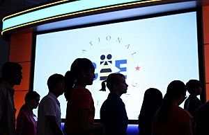 Annual Scripps National Spelling Bee Held In Washington, DC