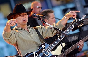 Kenny Chesney spoke with Clay and Dale (Getty Images)
