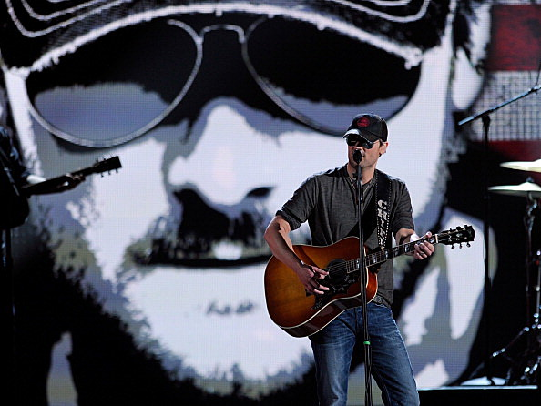 Eric Church at the CMA's
