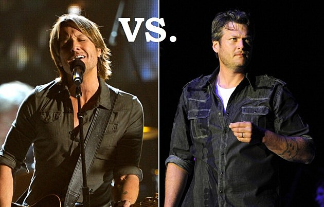 Keith Urban Vs. Blake Shelton