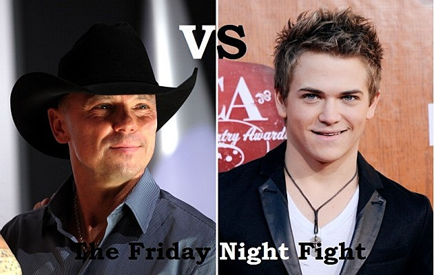 Kenny Chesney Vs. Hunter Hayes