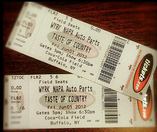 Taste of Country 2012