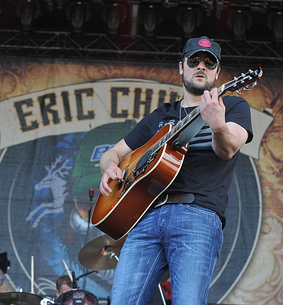 Eric Church Thursday at Darein Lake (Getty Images