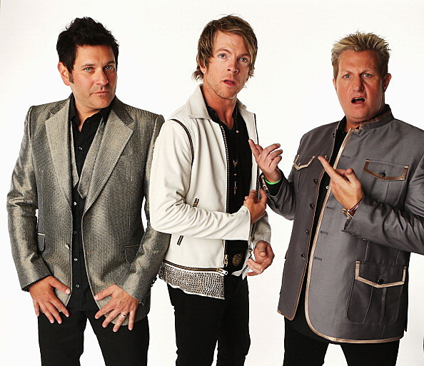 Rascal Flatts at Darein Lake Saturday ( Getty Images)