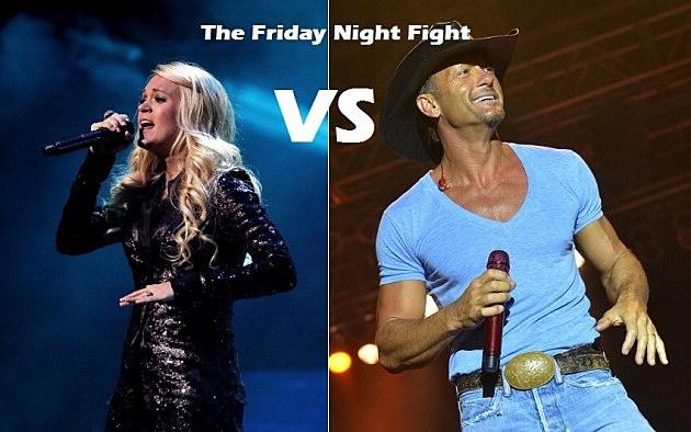 Carrie Underwood Vs. Tim McGraw