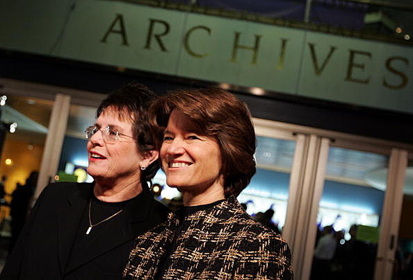Sally Ride with Billie Jean King