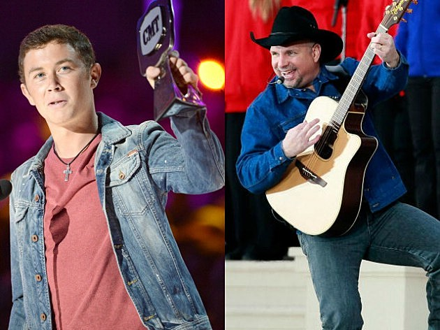 Scotty McCreery Garth Brooks Getty Images