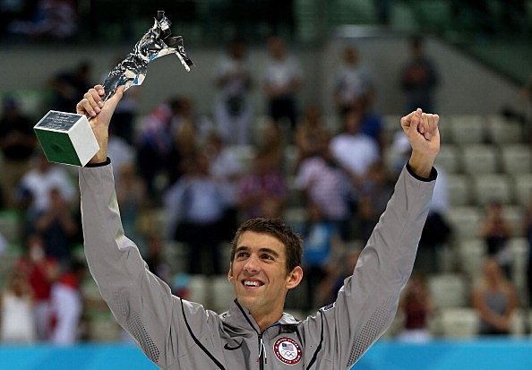 Michael Phelps may lose some medals (Getty Images)