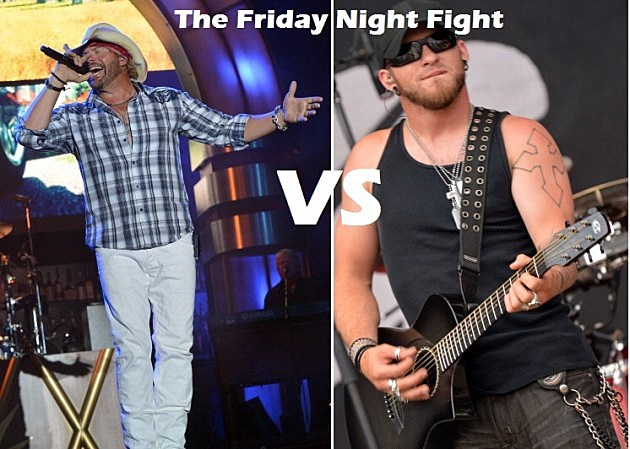 Toby Keith Vs. Brantley Gilbert