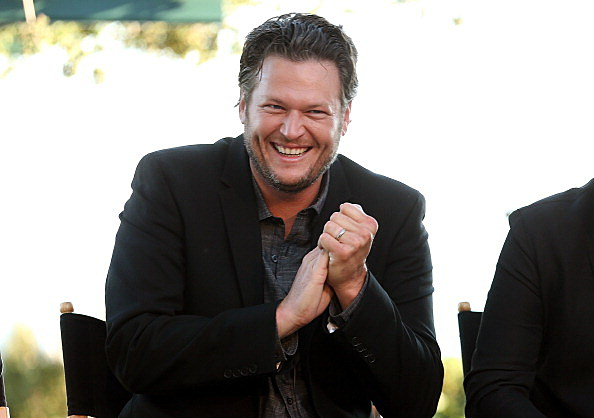 Blake Shelton has some good news (Getty Images)