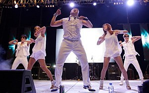 Psy Performs In South Korea
