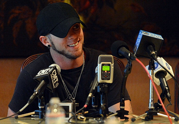 Brantley Gilbert is a CMA nominee! (Getty Images)