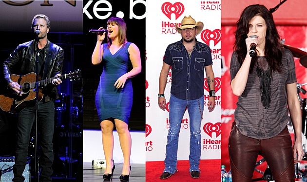 Dierks Bentley Kelly Clarkson Jason Aldean Little Big Town
