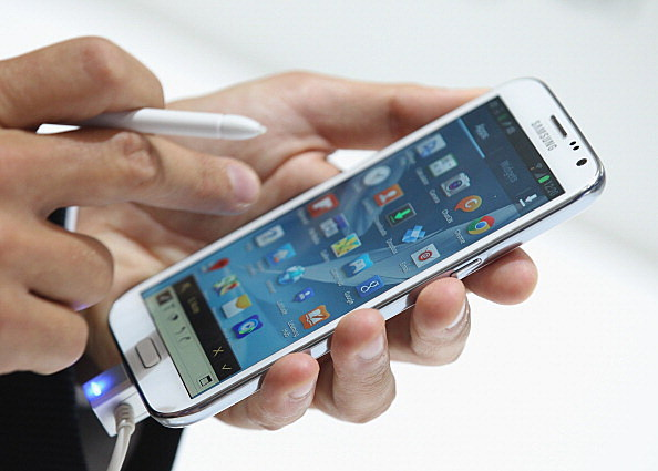 Cell phones contain a bunch of germs (Getty Images)