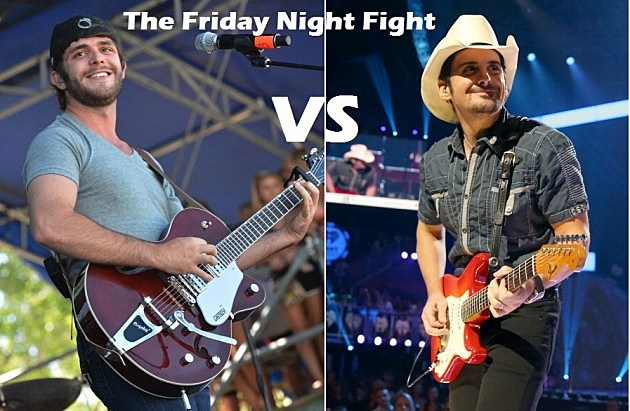 Thomas Rhett Vs. Brad Paisley