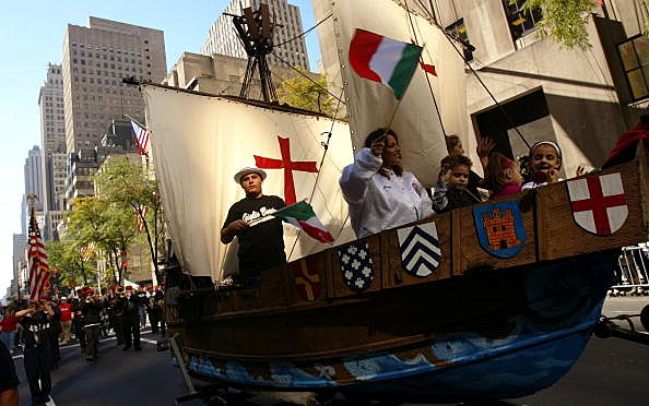 It's Columbus Day! (Getty Images)