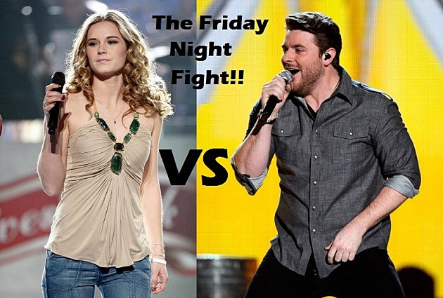 Kristy Lee Cook Vs. Chris Young